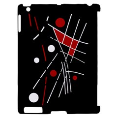 Artistic abstraction Apple iPad 2 Hardshell Case (Compatible with Smart Cover)