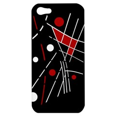 Artistic abstraction Apple iPhone 5 Hardshell Case
