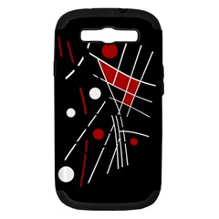 Artistic abstraction Samsung Galaxy S III Hardshell Case (PC+Silicone)