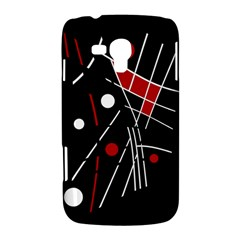 Artistic abstraction Samsung Galaxy Duos I8262 Hardshell Case