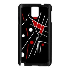 Artistic abstraction Samsung Galaxy Note 3 N9005 Case (Black)