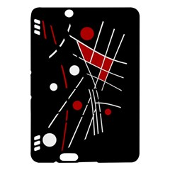 Artistic abstraction Kindle Fire HDX Hardshell Case