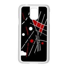 Artistic abstraction Samsung Galaxy S5 Case (White)