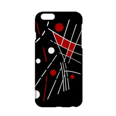 Artistic abstraction Apple iPhone 6/6S Hardshell Case