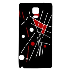 Artistic abstraction Galaxy Note 4 Back Case