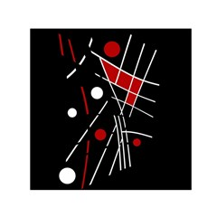Artistic abstraction Small Satin Scarf (Square)