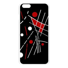 Artistic abstraction Apple Seamless iPhone 6 Plus/6S Plus Case (Transparent)