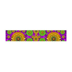 Fantasy Sunroses In The Sun Flano Scarf (Mini)