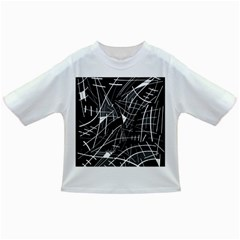 Gray abstraction Infant/Toddler T-Shirts