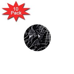 Gray abstraction 1  Mini Magnet (10 pack)