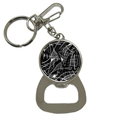 Gray abstraction Bottle Opener Key Chains
