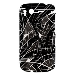 Gray abstraction HTC Desire S Hardshell Case