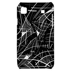 Gray abstraction Samsung Galaxy S i9000 Hardshell Case