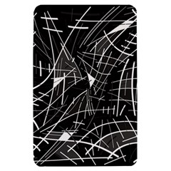 Gray abstraction Kindle Fire (1st Gen) Hardshell Case