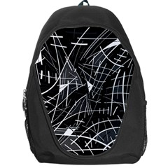 Gray abstraction Backpack Bag