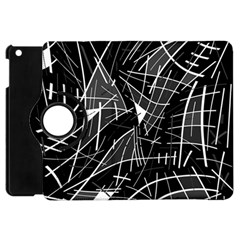 Gray abstraction Apple iPad Mini Flip 360 Case