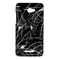 Gray abstraction HTC Butterfly X920E Hardshell Case