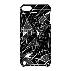 Gray abstraction Apple iPod Touch 5 Hardshell Case with Stand