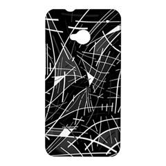 Gray abstraction HTC One M7 Hardshell Case