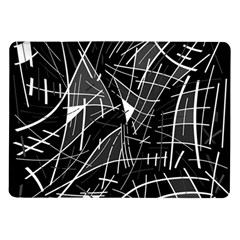 Gray abstraction Samsung Galaxy Tab 10.1  P7500 Flip Case