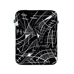Gray abstraction Apple iPad 2/3/4 Protective Soft Cases