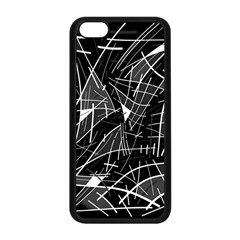Gray abstraction Apple iPhone 5C Seamless Case (Black)