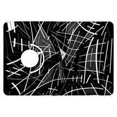 Gray abstraction Kindle Fire HDX Flip 360 Case