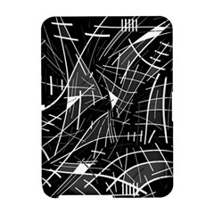 Gray abstraction Amazon Kindle Fire (2012) Hardshell Case