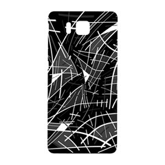 Gray abstraction Samsung Galaxy Alpha Hardshell Back Case