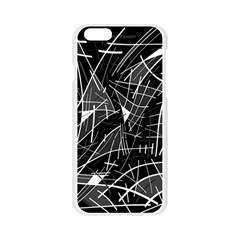 Gray abstraction Apple Seamless iPhone 6/6S Case (Transparent)