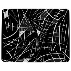 Gray abstraction Jigsaw Puzzle Photo Stand (Rectangular)