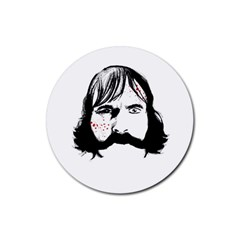 Bill The Butcher Rubber Round Coaster (4 pack)