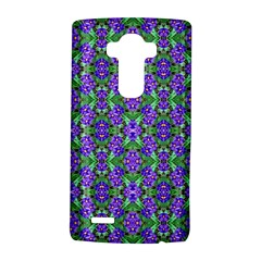 Pretty Purple Flowers Pattern Lg G4 Hardshell Case