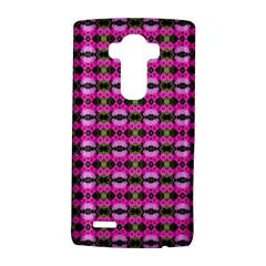 Pretty Pink Flower Pattern LG G4 Hardshell Case