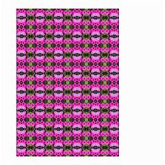 Pretty Pink Flower Pattern Small Garden Flag (Two Sides)