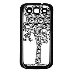 Jt Zebra Stipes 11 X 17 Samsung Galaxy S3 Back Case (Black)