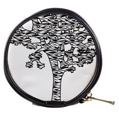 Joshua Tree Zebra Stripes Mini Makeup Bags