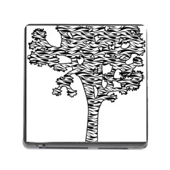 Joshua Tree Zebra Stripes Memory Card Reader (Square)