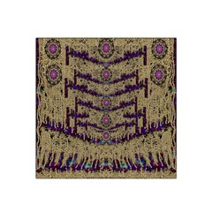 Lace Landscape Abstract Shimmering Lovely In The Dark Satin Bandana Scarf