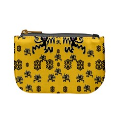 Disco Dancing In The  Tribal Nature  Mini Coin Purses