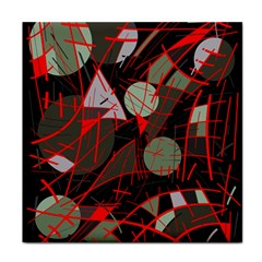 Artistic abstraction Tile Coasters
