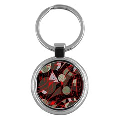 Artistic abstraction Key Chains (Round)