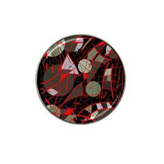 Artistic abstraction Hat Clip Ball Marker (10 pack)