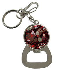 Artistic abstraction Bottle Opener Key Chains