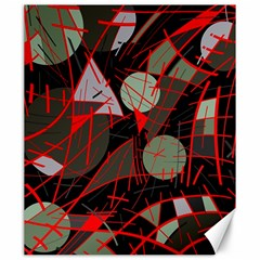 Artistic abstraction Canvas 20  x 24