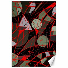 Artistic abstraction Canvas 24  x 36