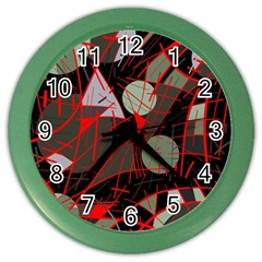 Artistic abstraction Color Wall Clocks