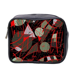 Artistic abstraction Mini Toiletries Bag 2-Side