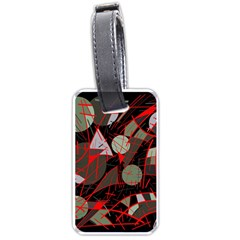 Artistic abstraction Luggage Tags (One Side)