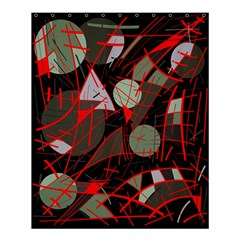 Artistic abstraction Shower Curtain 60  x 72  (Medium)